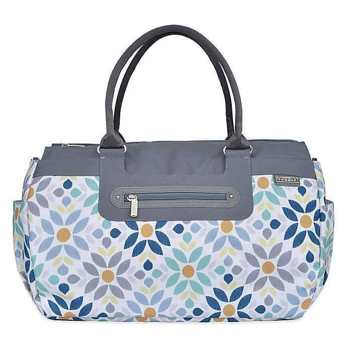 Alternate image 1 for JJ Cole® Parker Weekender Diaper Bag in Prairie Blossom