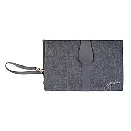 JJ Cole® Changing Clutch in Grey Heather