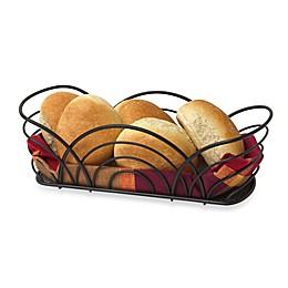 Spectrum™ Flower Bread Basket in Black
