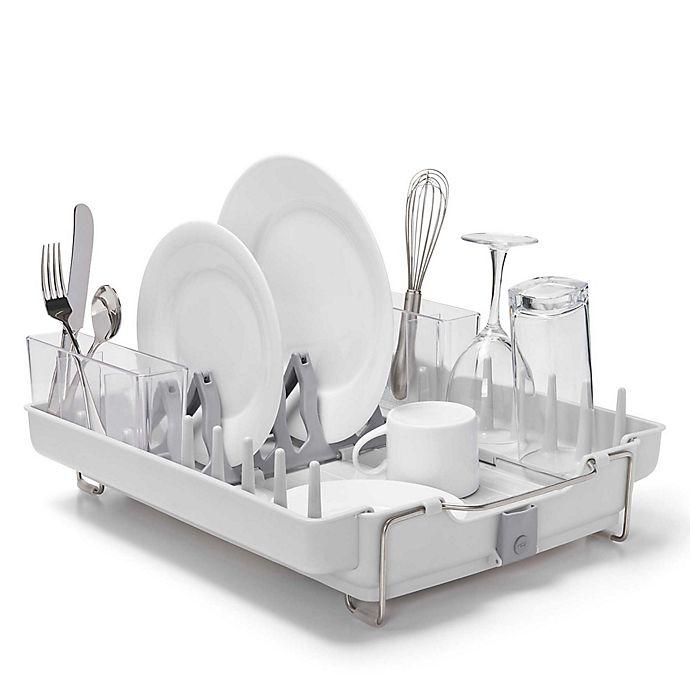 Alternate image 1 for OXO Good Grips® Foldaway Dish Rack