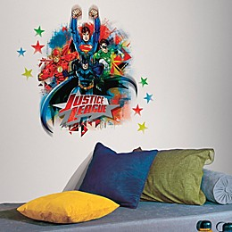 Justice League Peel and Stick Giant Wall Decals