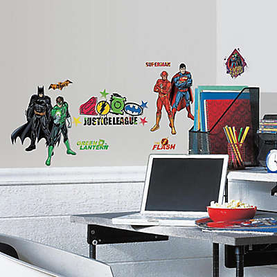 DC Comics Justice League Peel and Stick Wall Decals