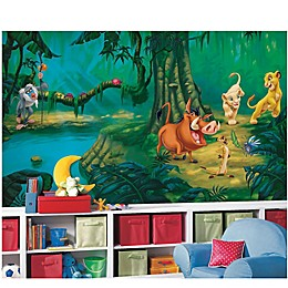 Disney® Lion King Chair Rail Prepasted 10.5-Foot x 6-Foot Mural