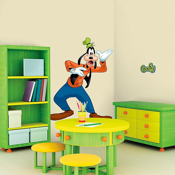 Alternate image 1 for Disney® Mickey and Friends Goofy Giant Peel and Stick Wall Decals