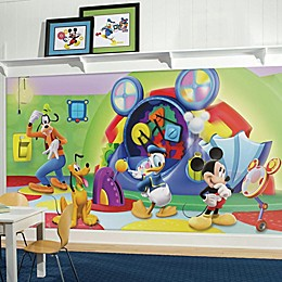 Disney® Mickey Mouse Clubhouse Capers Chair Rail 10.5-Foot x 6-Foot Mural