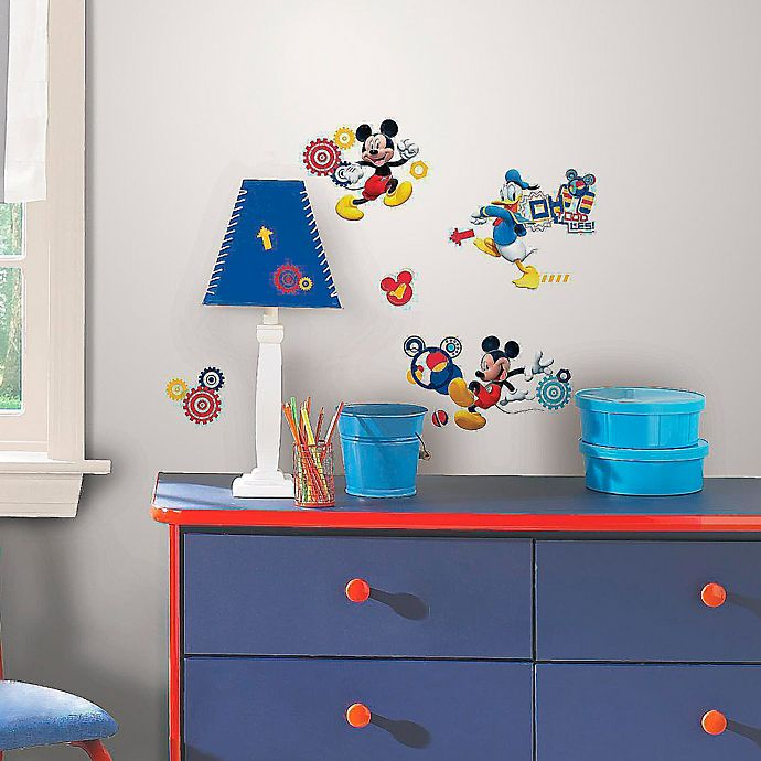 Alternate image 1 for Disney® Mickey Mouse Clubhouse Capers Peel and Stick Wall Decals