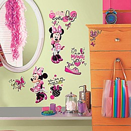 Disney® Minnie Fashionista Peel and Stick Wall Decals