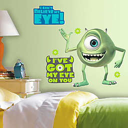 Disney® Monsters Inc. Mike Wazowski Giant Peel and Stick Wall Decals