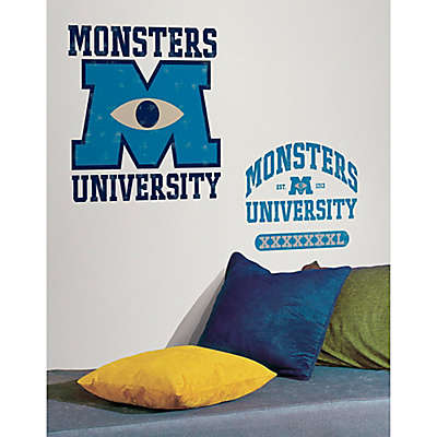 Disney® Monsters University Giant Peel and Stick Wall Decals
