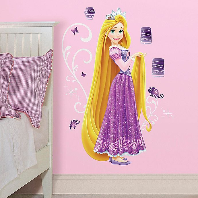 Alternate image 1 for Disney® Princess Rapunzel Giant Peel and Stick Wall Decals
