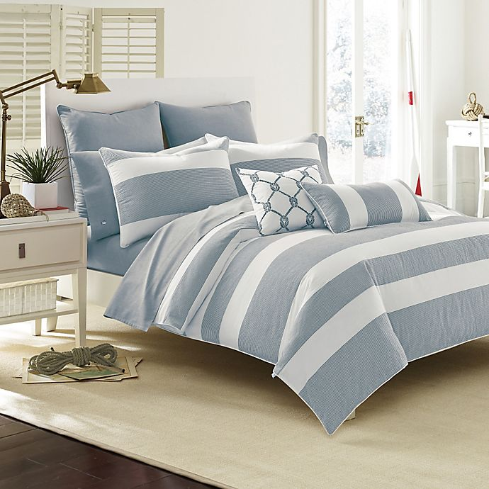 Alternate image 1 for Southern Tide® Breakwater Comforter Set in Nautical Navy