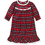 Little Me® Size 4T Plaid Gown in Red