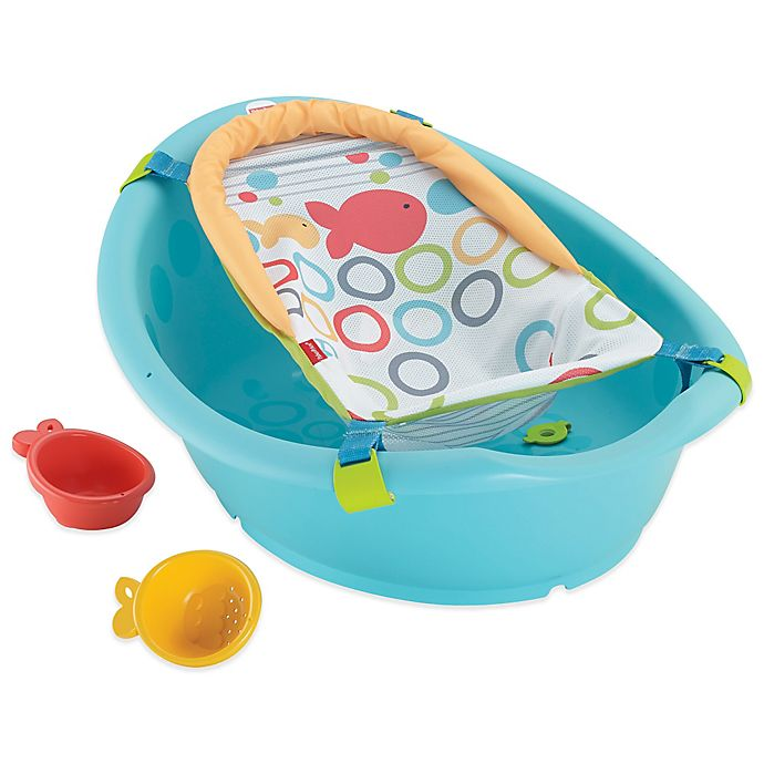 Alternate image 1 for Fisher-Price® Rinse 'n Grow Bath Tub