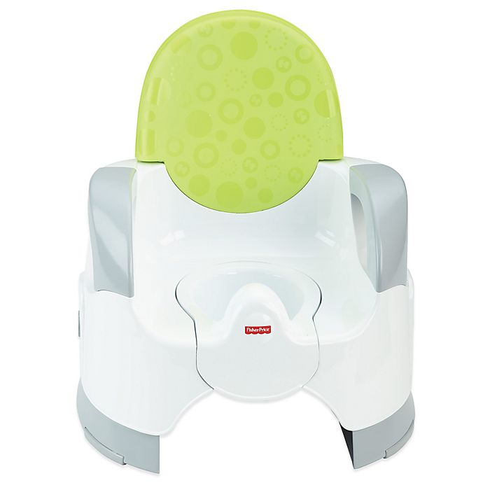 Alternate image 1 for Fisher-Price Customer Comfort Potty in Green