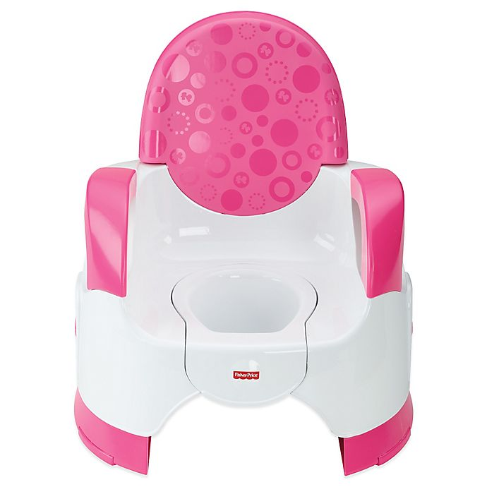 Alternate image 1 for Fisher Price Customer Comfort Potty in Pink