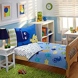 Everything Kids by Nojo® Monster 4-Piece Toddler Comforter Set