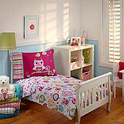 Everything Kids by Nojo® Hoot Hoot 4-Piece Toddler Comforter Set