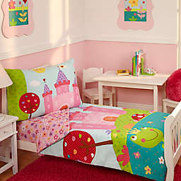 Everything Kids by Nojo® Fairytale 4-Piece Toddler Bedding Set