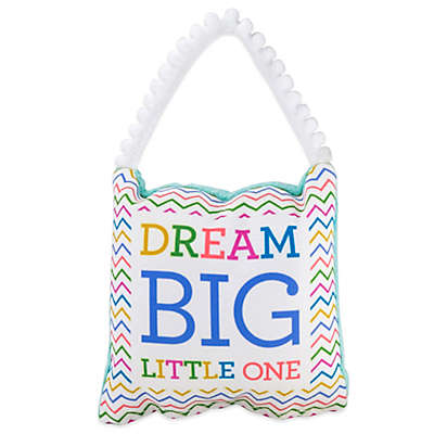 """About Face Designs """"Dream Big"""" Baby Pillow"""