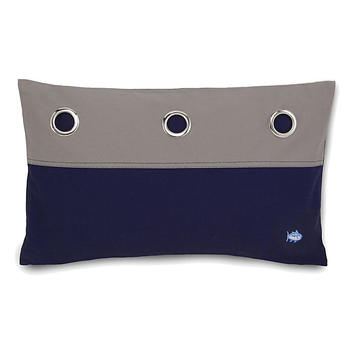 Alternate image 1 for Southern Tide® Starboard Oblong Throw Pillow in Navy