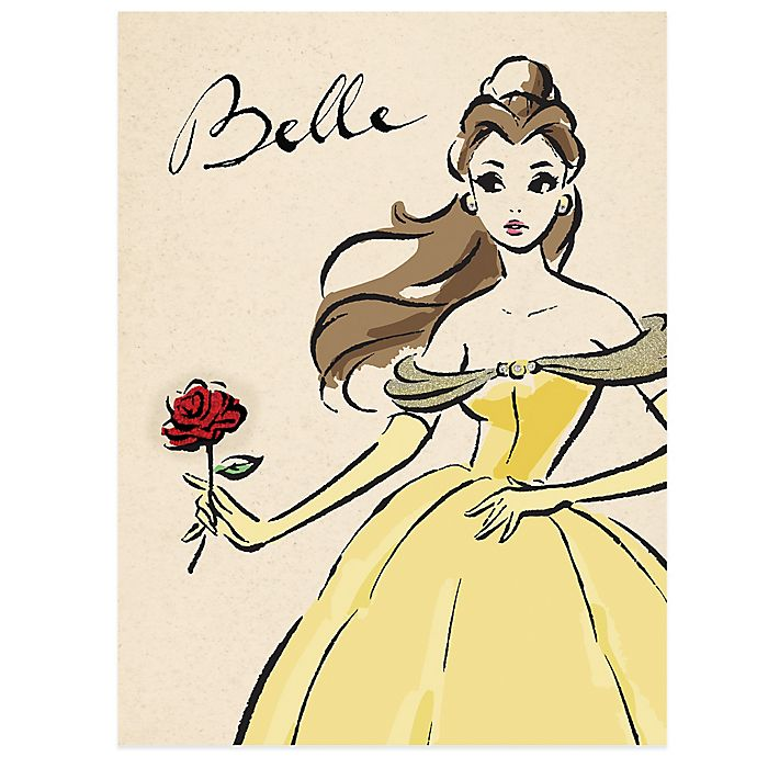 Alternate image 1 for Disney® Princess Belle the Fashionista Wall Décor