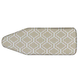 Extra-Wide Ironing Board Cover in Taupe