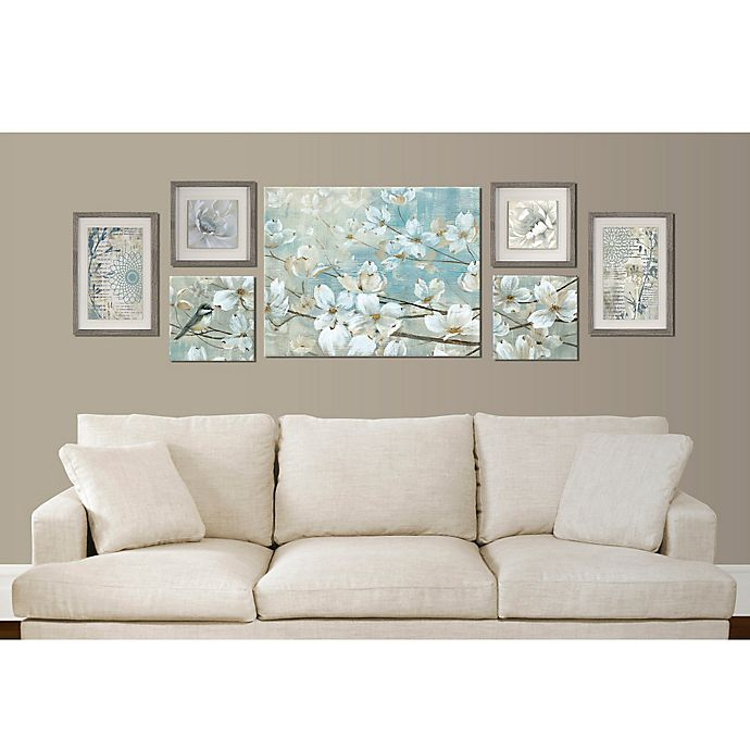 Floral 7-Piece Wall Décor Set
