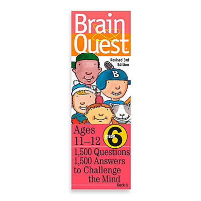 Brain Quest 6th Grade Question and Answer Game