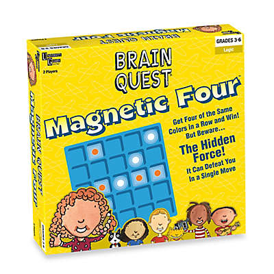 Brain Quest Magnetic Four Game