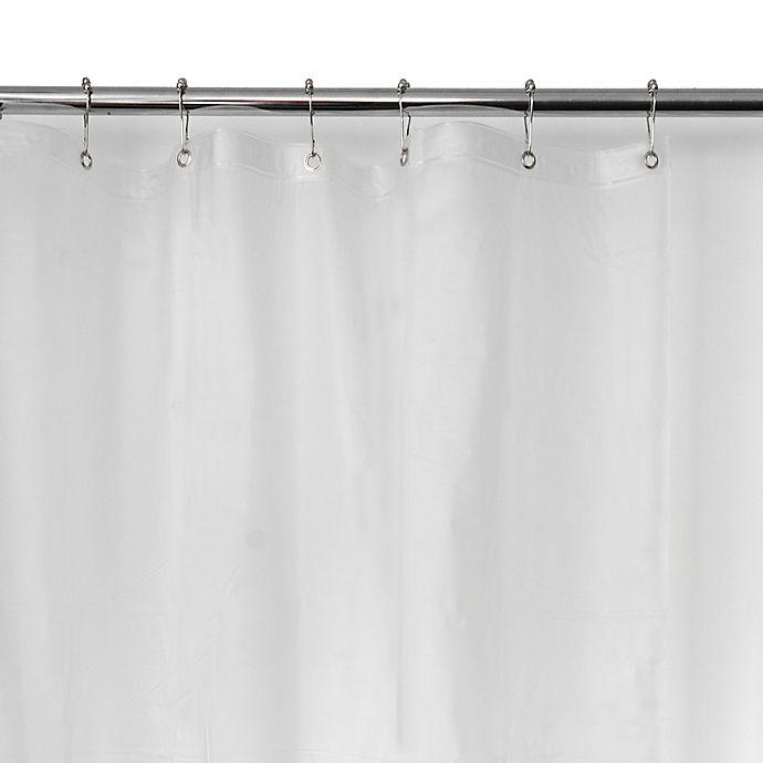 Alternate image 1 for Frosted EVA Vinyl Shower Curtain Liner