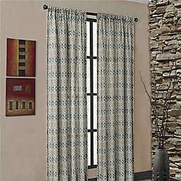 Mendes Rod Pocket Window Curtain Panel