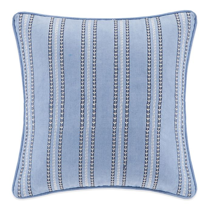 Alternate image 1 for Echo™ Kamala Square Throw Pillow in Blue