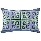 Echo™ Kamala Oblong Throw Pillow in Blue/Aqua