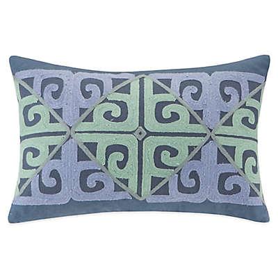Echo™ Kamala Oblong Throw Pillow in Blue/Aqua