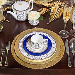 Glamorous Gold Thanksgiving Table