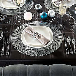 Black & Silver New Year's Eve Celebration Table