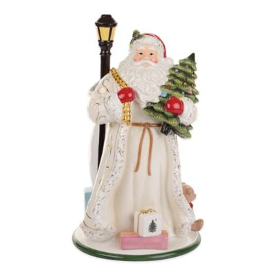 Spode Christmas Tree Gold Santa Vase Bed Bath Beyond