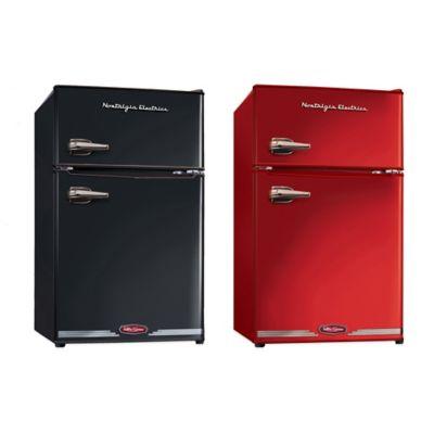 Nostalgia Electrics Compact Refrigerator And Freezer