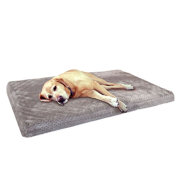 Ortho 35 Inch X 22 Inch Pet Crate Mat In Grey Bed Bath