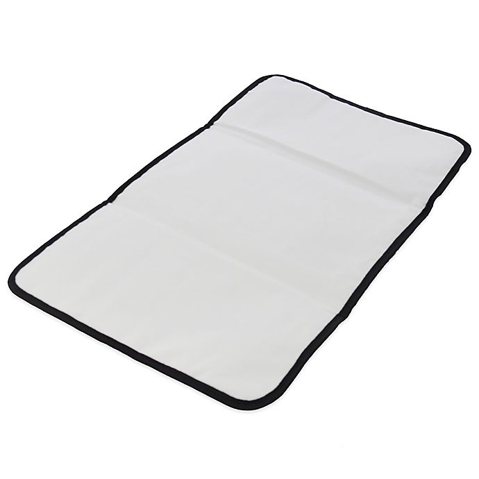 Alternate image 1 for Obersee Baby Changing Mat in Black
