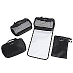 Obersee 4-Piece Diaper Bag Conversion Kit in Black