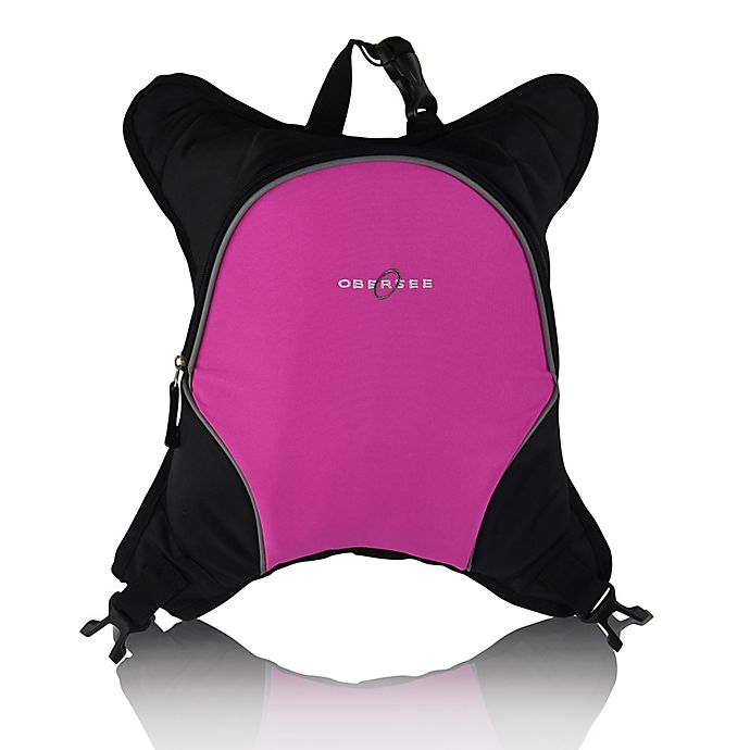 Alternate image 1 for Obersee Baby Bottle Cooler Attachment in Pink