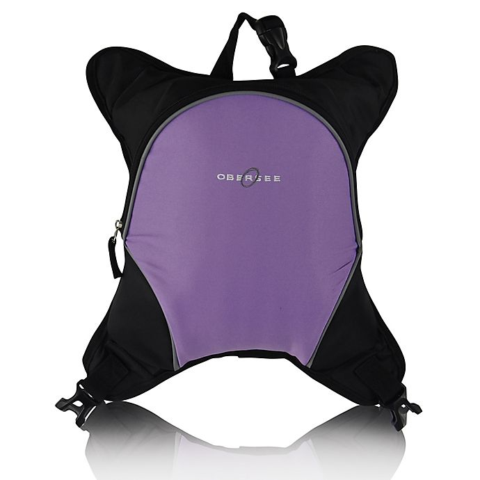 Alternate image 1 for Obersee Baby Bottle Cooler Attachment in Purple