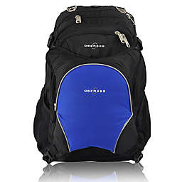 Obersee Bern Diaper Bag Backpack with Detachable Cooler in Royal Blue