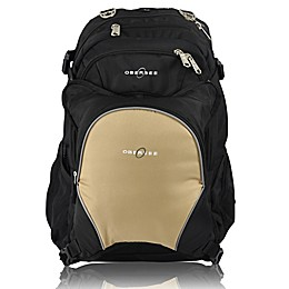 Obersee Bern Diaper Bag Backpack with Detachable Cooler in Sand