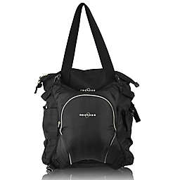 Obersee Innsbruck Diaper Bag Tote with Detachable Cooler in Black