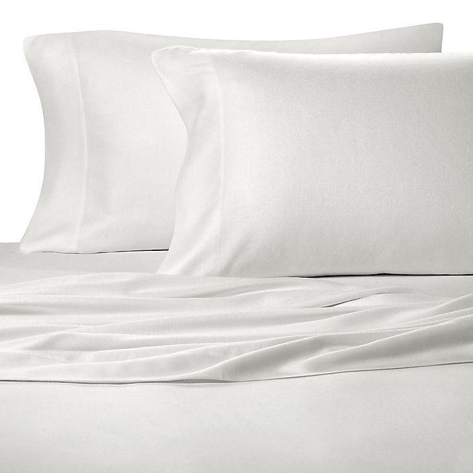 Alternate image 1 for Pure Beech® 100% Modal Flannel King Pillowcase Pair in White