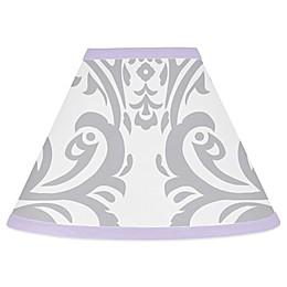 Sweet Jojo Designs Elizabeth Lampshade in Lavender/Grey