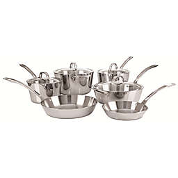 Viking® Tri Ply Contemporary Stainless Steel 10-Piece Cookware Set