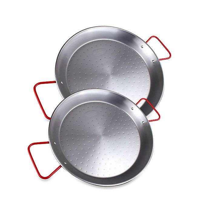 13 3//8 Paella Pan World Cuisine Enamel St